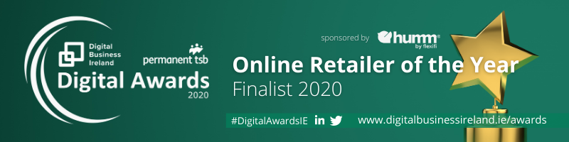 Digital Awards 2020 - Online retailer of the year finalist 2020